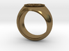 Bitcoin Ring 3d printed