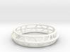 Vertebra Bracelet / Model VTB03 / Size M 63 mm 3d printed