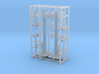 Street Light Post 2 Signals Z Scale 3d printed 2 street signal lights z scale