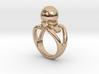Black Pearl Ring 17 - Italian Size 17 3d printed