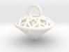 3D Printed Diamond is My Best Friend Pendant Small 3d printed