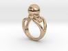 Black Pearl Ring 19 - Italian Size 19 3d printed