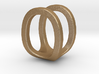 Two way letter pendant - OU UO 3d printed