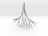 Fractal Earring / Pendant v.3  3d printed