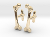 Anatomical Femur Cufflinks 3d printed
