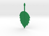 Birch Leaf Pendant 3d printed