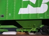 AML 3 Bay Hopper Gap Filling Templates 1:29 scale 3d printed After Inserts