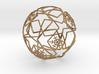 iFTBL Xmas Frozen Stars Ball - Ornament 60mm 3d printed