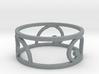 Golden Spiral Ring Size 7 (3 normal spirals) 3d printed