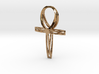 Large Double Ankh Pendant 3d printed