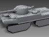 1/100 JN-129 Add-ons 3d printed A JN-129 equipped with track shields and flare turrets