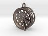 """Low Tenor """"Void"""" steelpan pendant2, S 3d printed"""