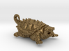 American Alligator Snapping Turtle Pendant 3d printed
