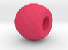 Thursday - Multifaceted Bead 3d printed