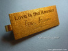 Love Is The Answer (L'Amour Est La Réponse) 3d printed