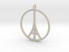 Paris Peace Pendant 3d printed