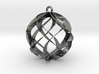 Spiral Sphere Ornament  3d printed