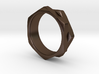 Double Hex Nut Ring 3d printed