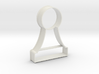 Cookie Cutter - Chess Piece Pawn 3d printed