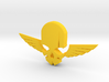 NEW! Skull & Wing NUT, for M6 x1 Screw 3d printed