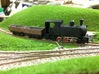 N-scale Narrow Gauge Steam Shell 3d printed