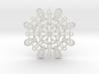 Curvy Snowflake 3d printed