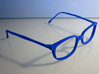 unisex glasses - type 1 3d printed Printed in Royal Blue strong & flexible