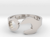 Combo Wrench Ring - US Size 10 - 12-21-13 Engraved 3d printed