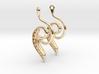 Seed Earrings 3d printed