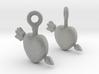 Heart Earrings 3d printed