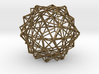 10 Cube Compound, Wireframe 3d printed