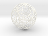 iFTBL Xmas Snow Ball / The One - Ornament 60mm ' 3d printed