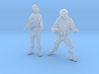 1-35 Military Zombie Set 4 3d printed