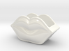 Porcelain Lips Container 3d printed