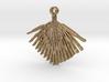 Palmetto Leaf pendant 3d printed