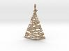 Christmas Tree Pendant 4 3d printed