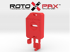 AJ10016 RotoPax 1 Gallon Fuel Pack - RED 3d printed