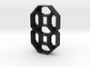 CLKV2-ML-01 : Diffuser Shell - Digit 3d printed Black