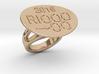 Rio 2016 Ring 23 - Italian Size 23 3d printed