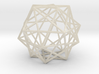 Expanded Dodecahedron 3d printed