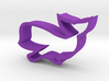 Whale shaped cookie cutter 3d printed
