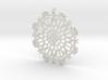 Cinderella Snowflake 3d printed