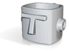 TASTEspresso, coffee cup 3d printed