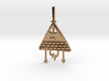 Bill Cipher Pendant/Keychain 3d printed