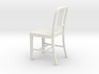 Miniature 1:18 Aluminum 1 Chair (not full size) 3d printed