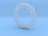 Voronoi Bracelet 2 3d printed