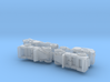 German Mercedes Staff-Cars G4 and 170VK 1/285 6mm 3d printed
