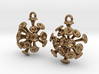 Discosphaera Coccolithophore earrings 3d printed