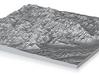 Model of Sheridan Mountain 3d printed