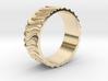 CurvedForrest dünn Ring Size 10.5 3d printed